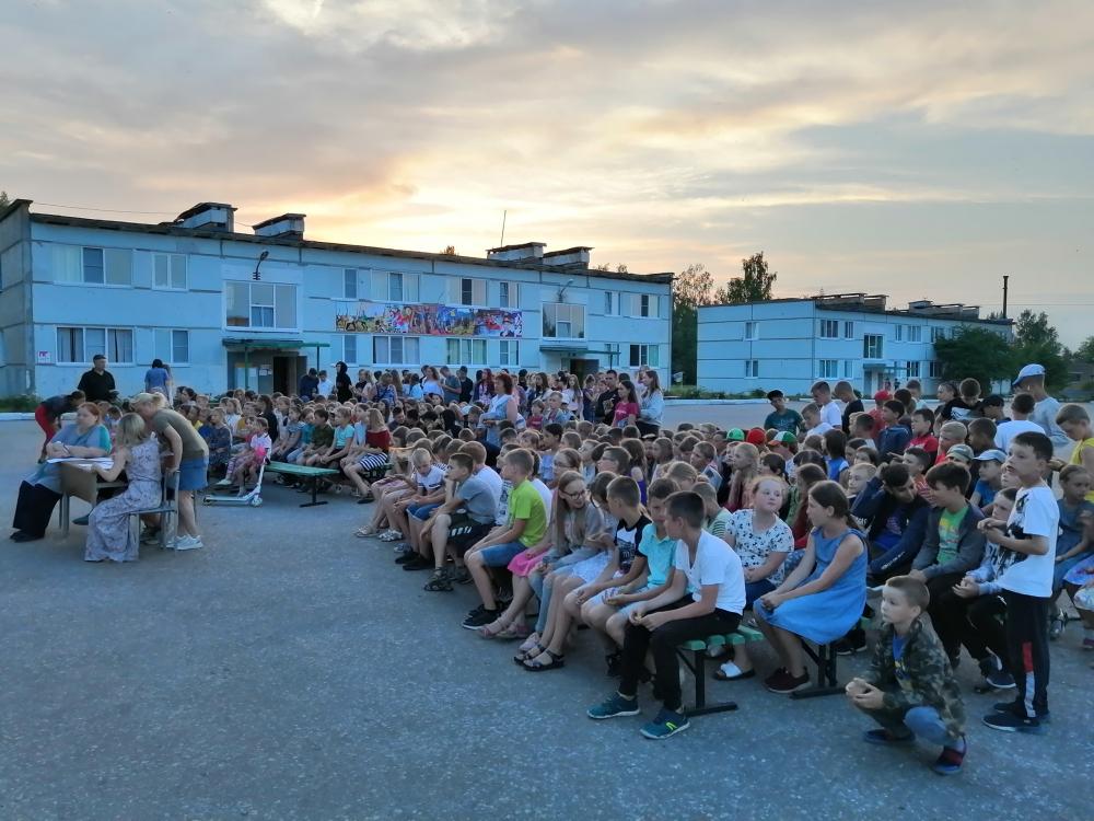 Православная смена «Ковчег» в детском оздоровительном лагере «Юность»